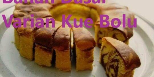 Bahan Dasar Varian Kue Bolu